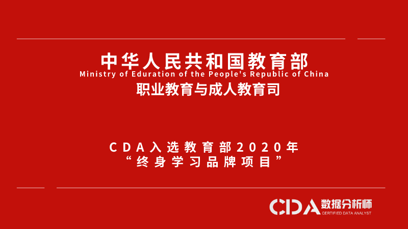 "Good news: CDA is selected as the 2020 ""Lifelong Learning Brand Project"" by the Ministry of Education"
